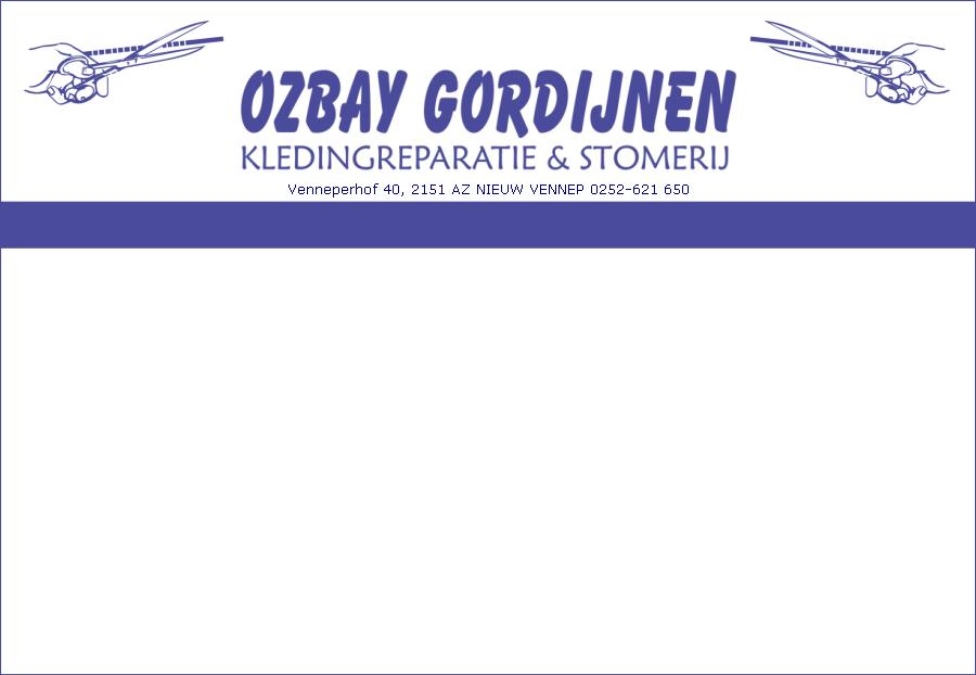Ozbay Gordijnen, Gordijnstoffen, Kledingreparatie, stomerij, Nieuw ...